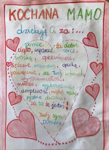 Zdjęcie pracy konkursowej Dominika Teklińskiego.