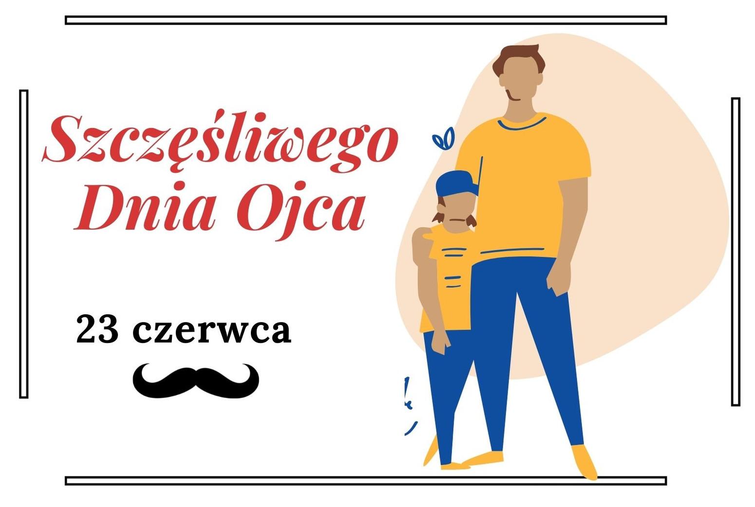 Zdjęcie plakatu z okazji Dnia Ojca.